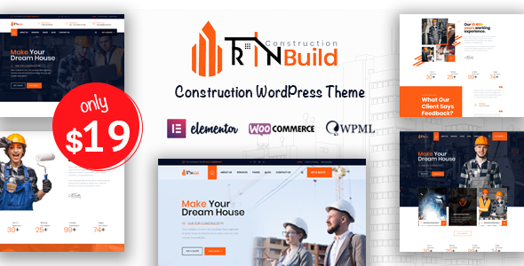 Download Rin Build - Construction Company WordPress Theme }}