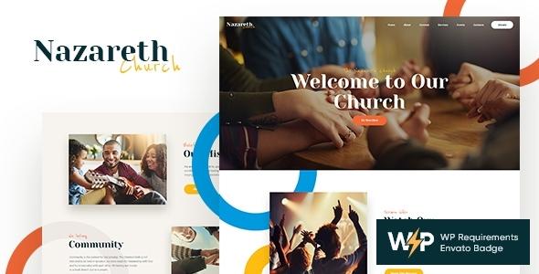 Super Nazareth | Church & Religion WordPress Theme
