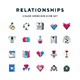 Relationships Icons