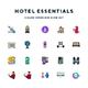 Hotel Essentials Icons