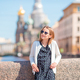 Cute girl in Sankt Petersburg in Russia - PhotoDune Item for Sale
