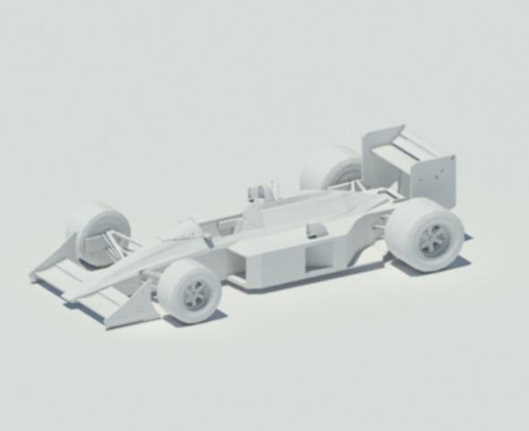 McLaren MP4-4 - 3DOcean Item for Sale