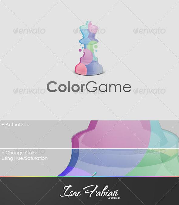 Color Game Logo Template - Symbols Logo Templates