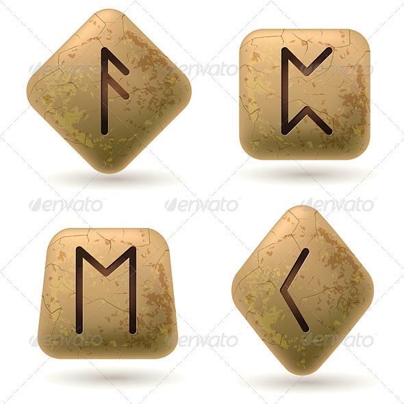 Runes - Objects Vectors