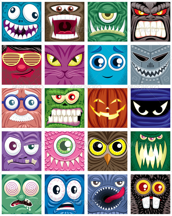 Avatars  - Web Elements Vectors