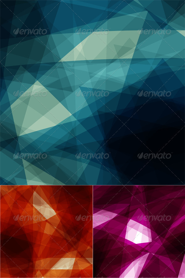 Abstract geometric designs - Abstract Conceptual