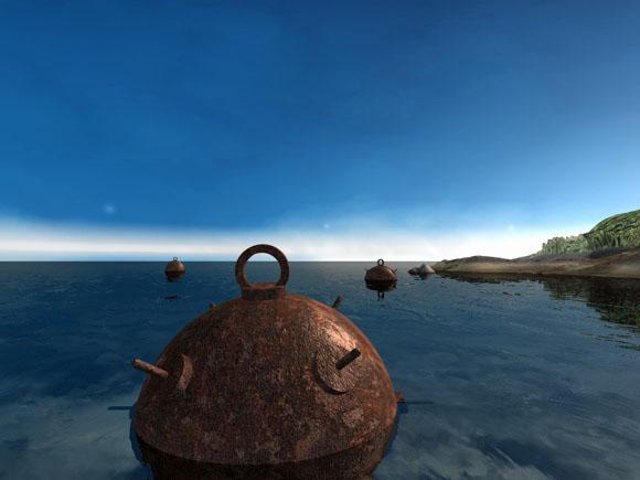 Sea mine pendant - 3DOcean Item for Sale