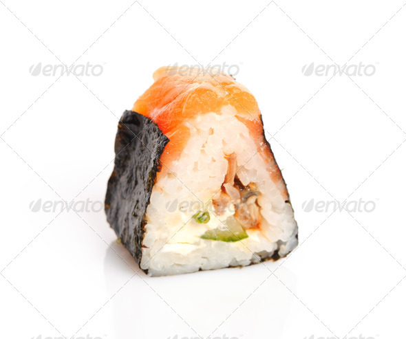Sushi roll - Stock Photo - Images