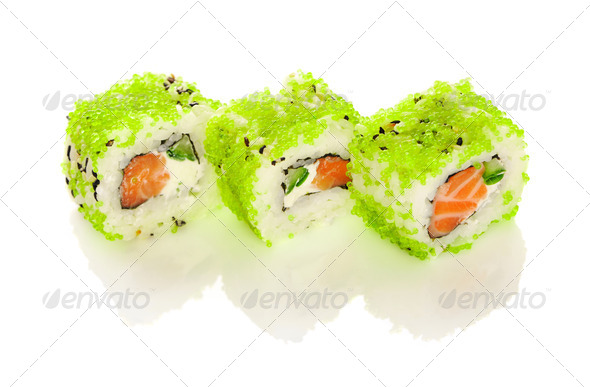 Sushi rolls - Stock Photo - Images