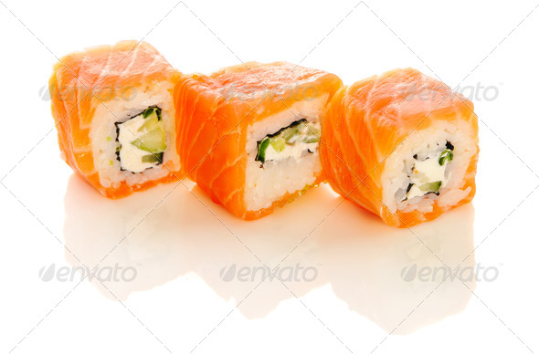 Sushi rolls - Stock Photo - Images