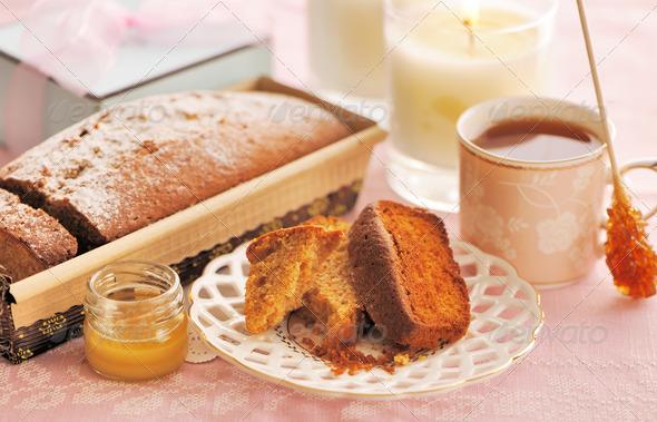 Fruit cake - Stock Photo - Images
