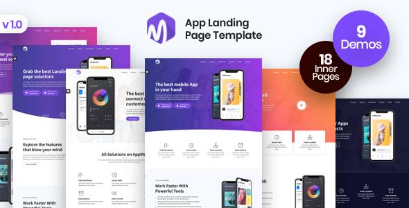 App Landing Page - AppMax
