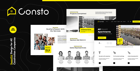 Download Consto   Industrial Construction Company Theme Free Nulled