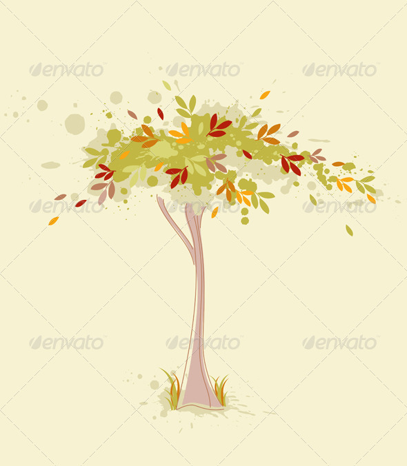 Autumn Tree - Flowers & Plants Nature