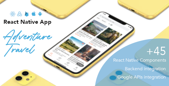 Adventure Travel - React Native App