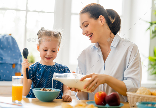 Healthy food at home. - Stock Photo - Images