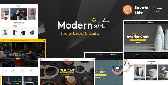 Modern Art - OpenCart Multi-Purpose Responsive Theme