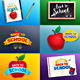 Back to School Card/Background