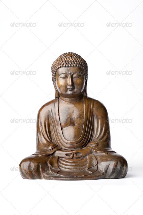 Bronze Buddha Statue - Stock Photo - Images