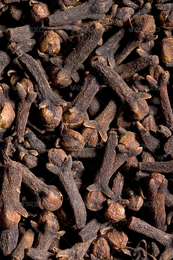 Lots Of Cloves Full Frame - Stock Photo - Images