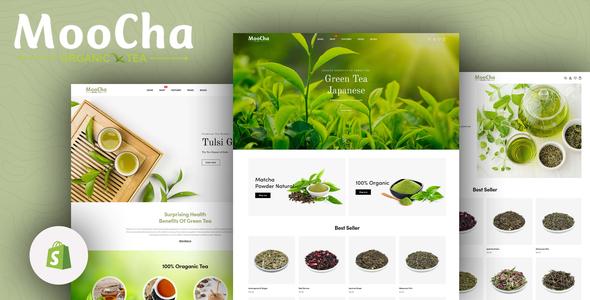 Moocha – Tea Shop & Organic Store Responsive Shopify Theme