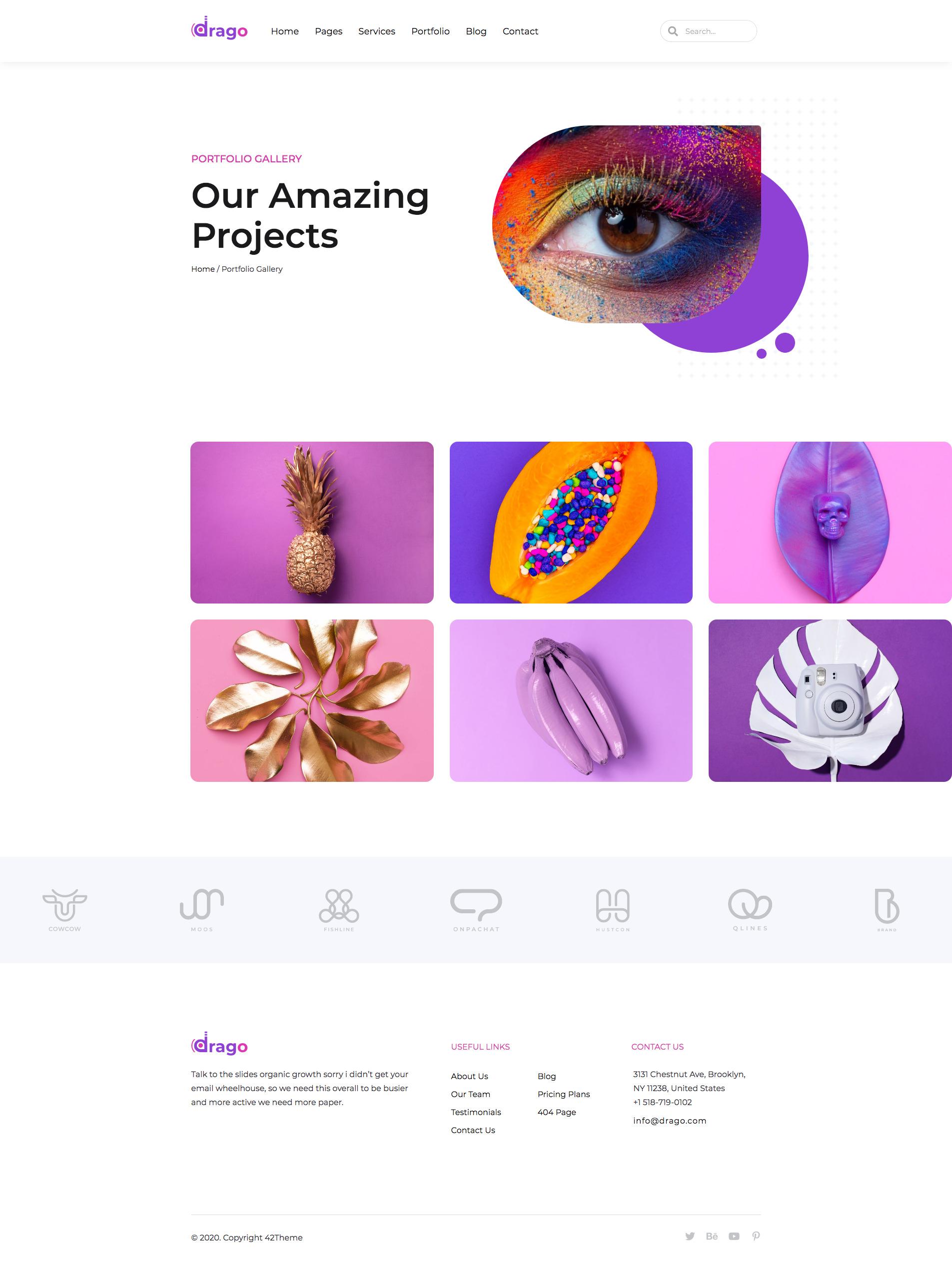 Drago - Creative Digital Agency Elementor Template Kit by 42Theme | ThemeForest