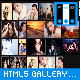 HTML5 Photo Gallery - Resizable Album Grid XML
