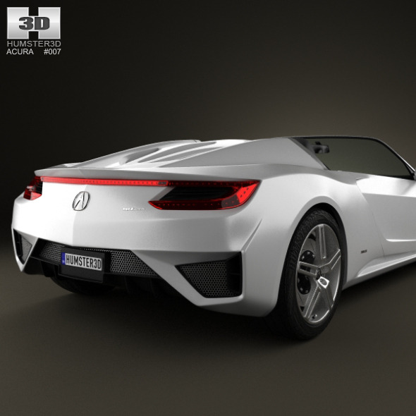 Acura NSX Convertible 2012   3DOcean Item For Sale.  Acura_NSX_convertible_2012_590_0001  Acura_NSX_convertible_2012_590_0002 ...