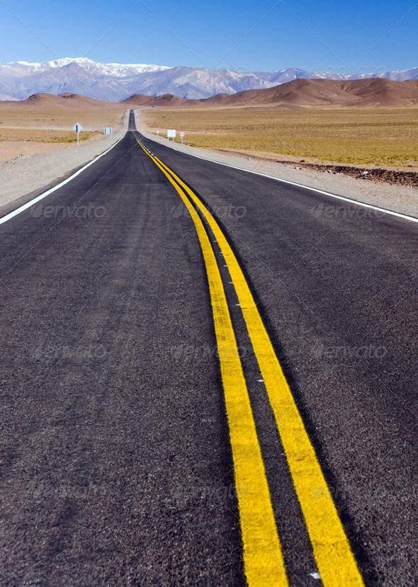 Road in North Argentina - Stock Photo - Images