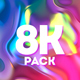 8k Colorful Fluid Gradients - VideoHive Item for Sale