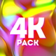 4k Colorful Fluid Gradients - VideoHive Item for Sale