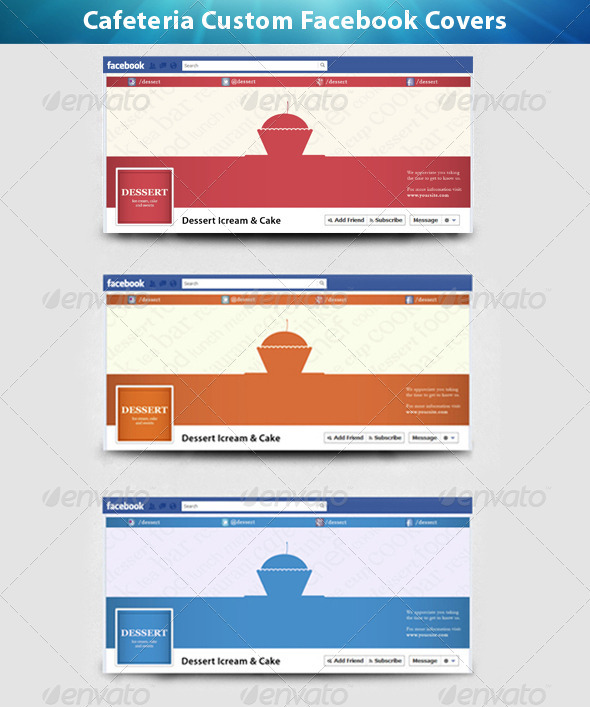 Cafeteria custom facebook cover - Facebook Timeline Covers Social Media