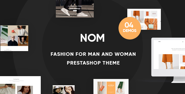 Leo Nom - Prestashop Clothing Theme for Fashion Store