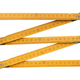 Yellow wooden folding rule - PhotoDune Item for Sale