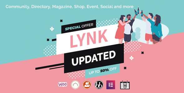 Lynk - Social Networking and Community WordPress Theme