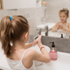 Little girl washing hands with soap - PhotoDune Item for Sale