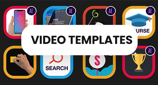 Recommended Video Templates by AmigoMotion
