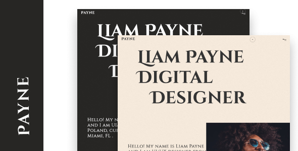 Download Payne - Creative Portfolio Template }}