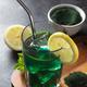 Green drink prepared with chlorella. Detox superfood - PhotoDune Item for Sale