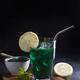 Green drink prepared with single celled green algae chlorella - PhotoDune Item for Sale