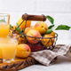 Apricot juice in glass. Healthy drink - PhotoDune Item for Sale