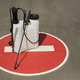Disinfection Equipment on Stop Sign - PhotoDune Item for Sale