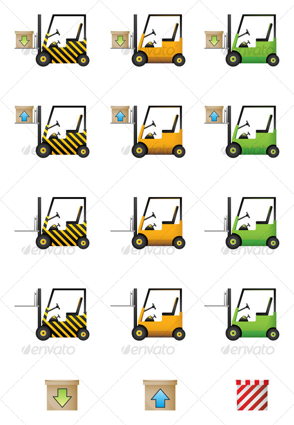 Download and Upload Cars Icon Set - Web Icons