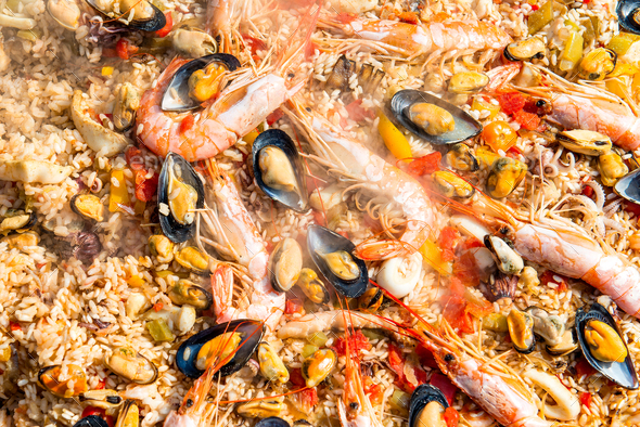 Preparing Paella - Stock Photo - Images