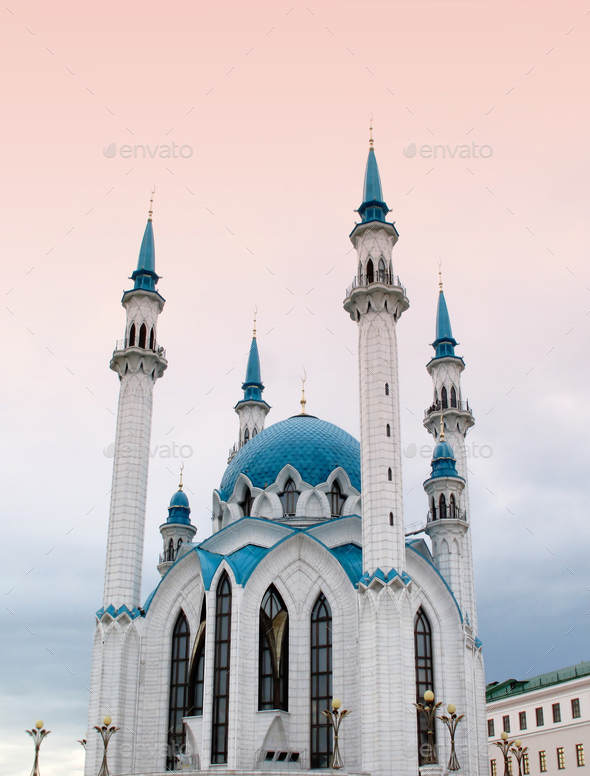 the Kul Sharif mosque - Stock Photo - Images