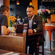 Men having a business meeting in a restaurant. - PhotoDune Item for Sale