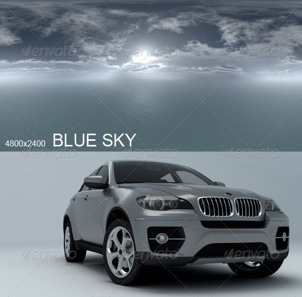 Hdri Blue Sky - 3DOcean Item for Sale