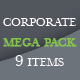 Corporate Mega Pack - GraphicRiver Item for Sale