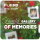 Family Gallery of Memories // Sunny Day in the Summer Garden - VideoHive Item for Sale