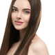 Woman with long smooth hair beautiful hairstyle fashion make up - PhotoDune Item for Sale